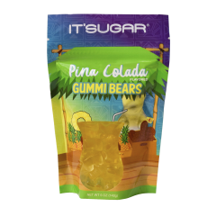 Beary Buzzed™ Bag - Pina Colada Gummy Bears