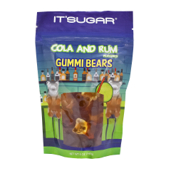 Beary Buzzed™ Bag - Coke and Rum Gummy Bears