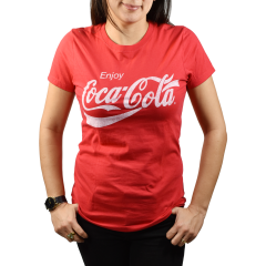 Distressed Coca-Cola Unisex Tee