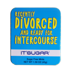 Recently Divorced And Ready For Intercourse Mint Tin