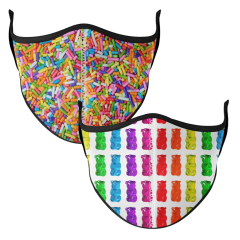 Candy Printed Face Mask