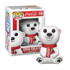 Funko POP! Ad Icons Coca-Cola Polar Bear Vinyl Figure
