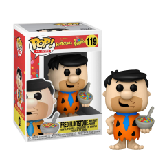 Funko POP! Ad Icons Fred Flintstone with Fruity Pebbles Vinyl Figure