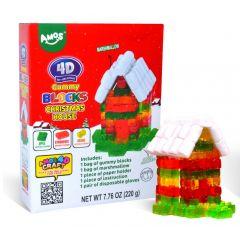 4D Gummy Blocks Christmas House