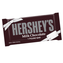 Giant 1LB Hershey's Milk Chocolate Bar