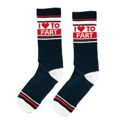 I Love to Fart Socks