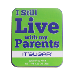 I Still Live With My Parents Mint Tin