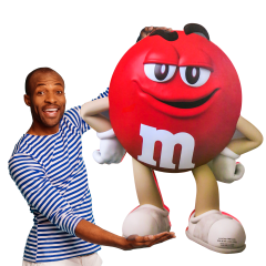 Ginormous M&M Character Box