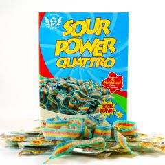 Perfect Size Sour Power Quattro Belts Gift Box