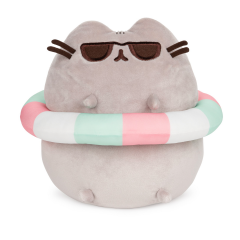 Pusheen with Inner Tube