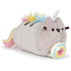 Pusheenicorn Pusheen Log with Donut
