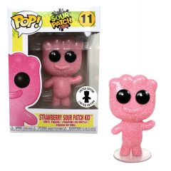Exclusive POP! Candy Pink Strawberry SOUR PATCH KIDS® Vinyl Figure