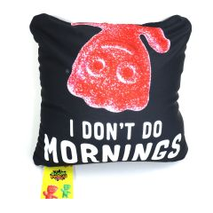 "SOUR PATCH KIDS ""I Don't Do Mornings"" Pillow"