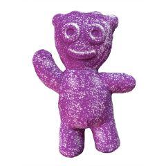 SOUR PATCH KIDS Purple Kid Shaped Pillow
