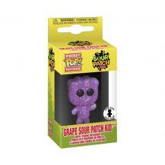 Exclusive Pocket POP! SOUR PATCH KIDS Funko Keychain - Grape