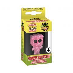 Exclusive Pocket POP! SOUR PATCH KIDS Funko Keychain - Strawberry