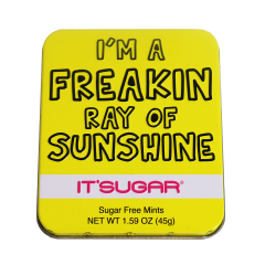 I'm A Freakin Ray of Sunshine Mint Tin