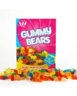 Perfect Size Gummy Bears Cereal Gift Box
