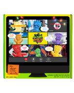 Giant SOUR PATCH KIDS Video Conference Box