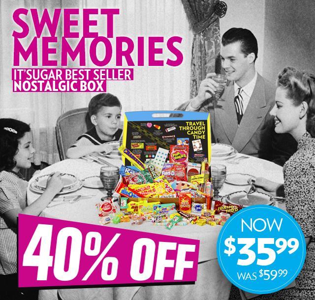 IT'SUGAR Nostalgic Large Retro Candy Gift Box