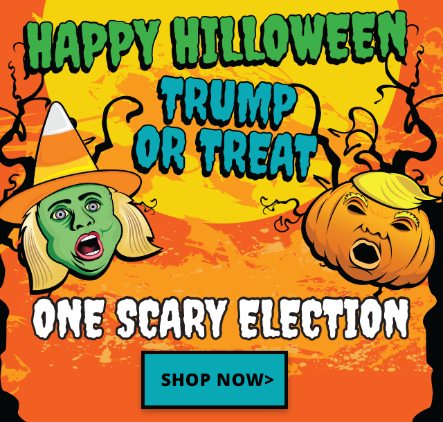 Trump and Clinton Novelty Gifts for One Scary Election