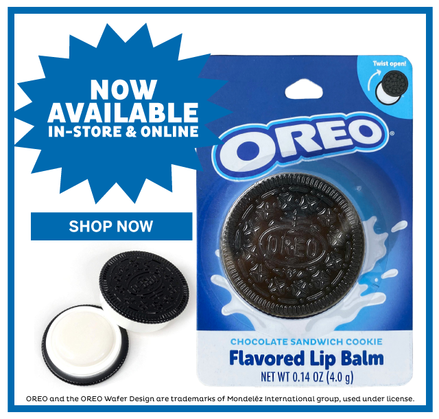 Oreo Flavored Lip Balm Now Available