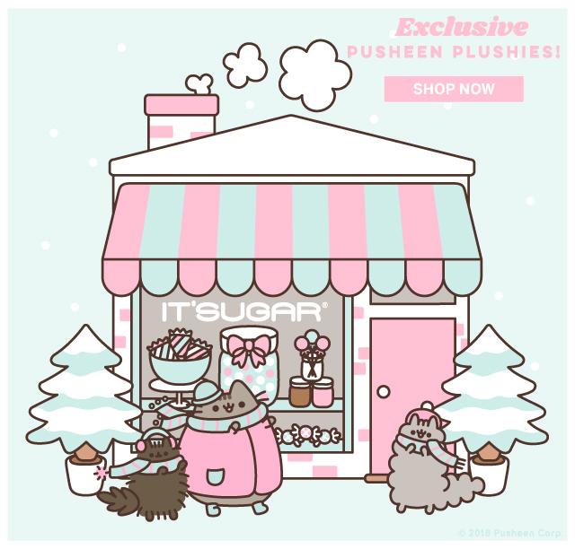 NEW Exclusive Pusheen Cupcake at ITSUGAR