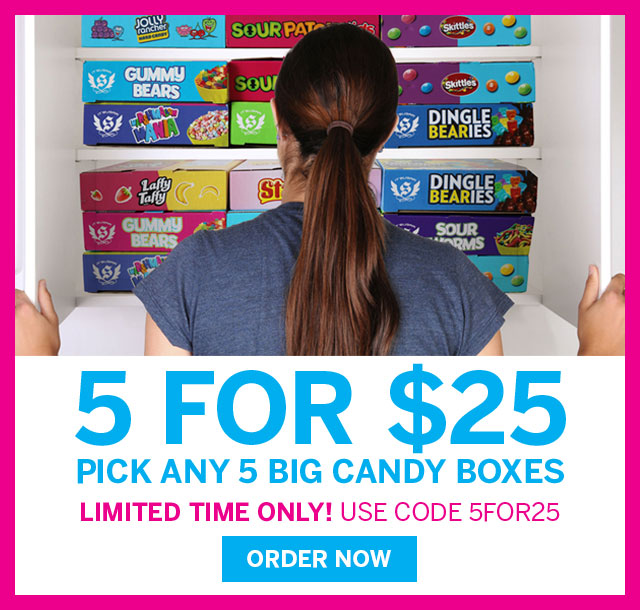5 Big or Favorite Boxes for $25 at IT'SUGAR.com
