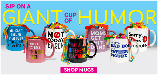 Sip on a Giant Cup of Humor from IT'SUGAR