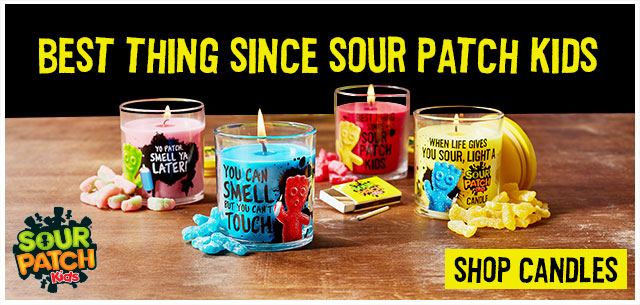 Shop SOUR PATCH KIDS Scented Candles at IT'SUGAR
