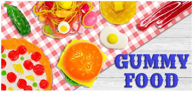 Gummy Food from IT'SUGAR
