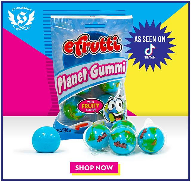 Planet Gummies from TikTok at IT'SUGAR