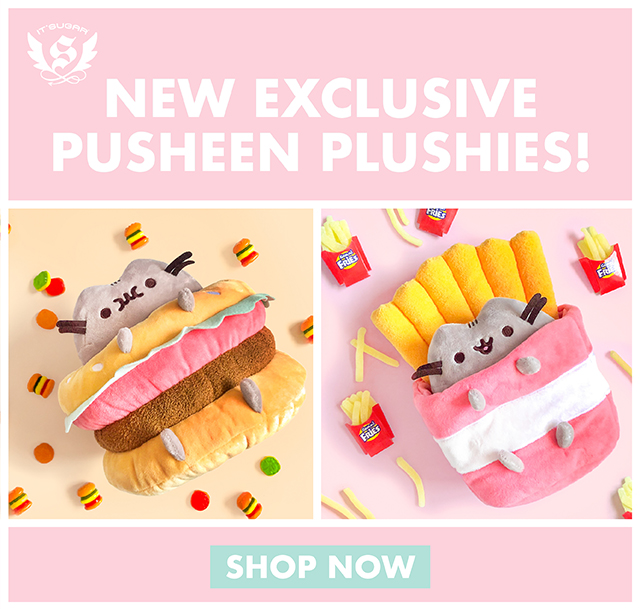 NEW Exclusive Pusheen Hamburger and Fries only at IT'SUGAR