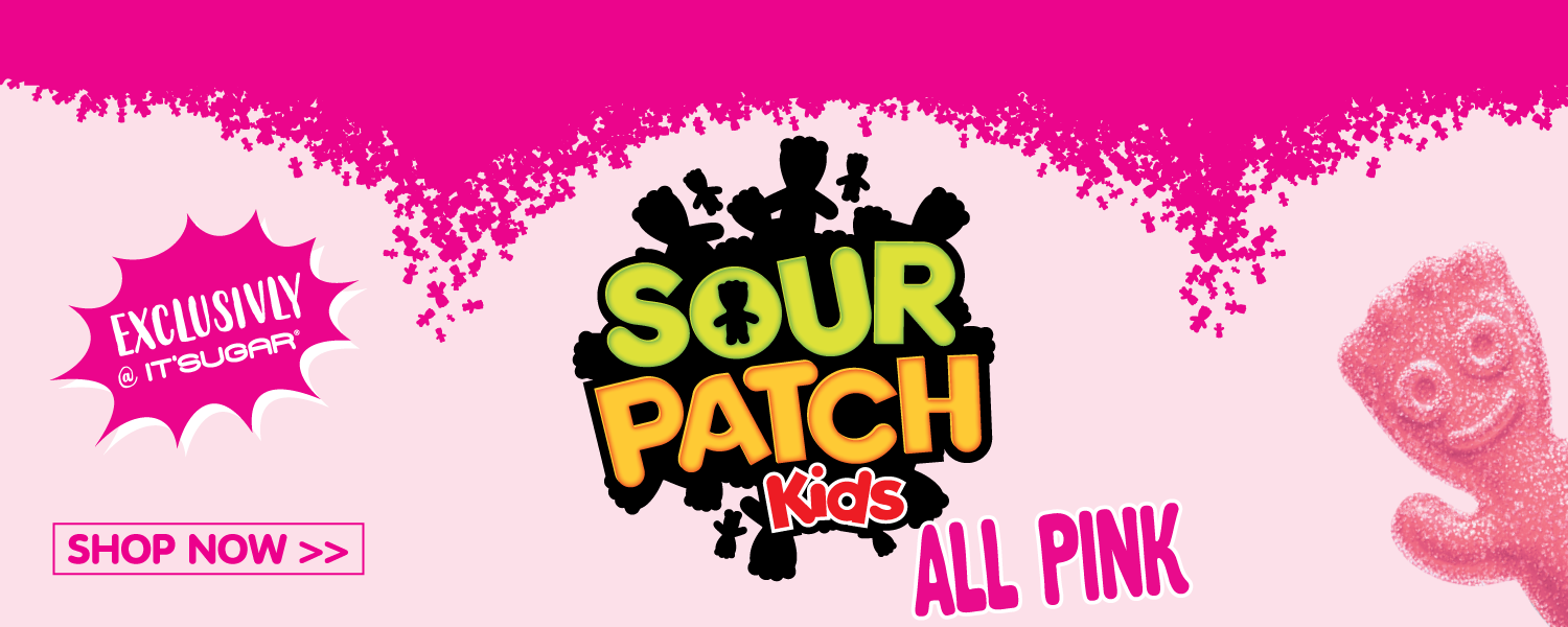 Exclusively at IT'SUGAR - All Pink Sour Patch Kids